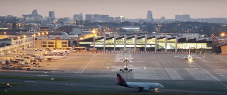 luchthaven zaventem-brussel airport